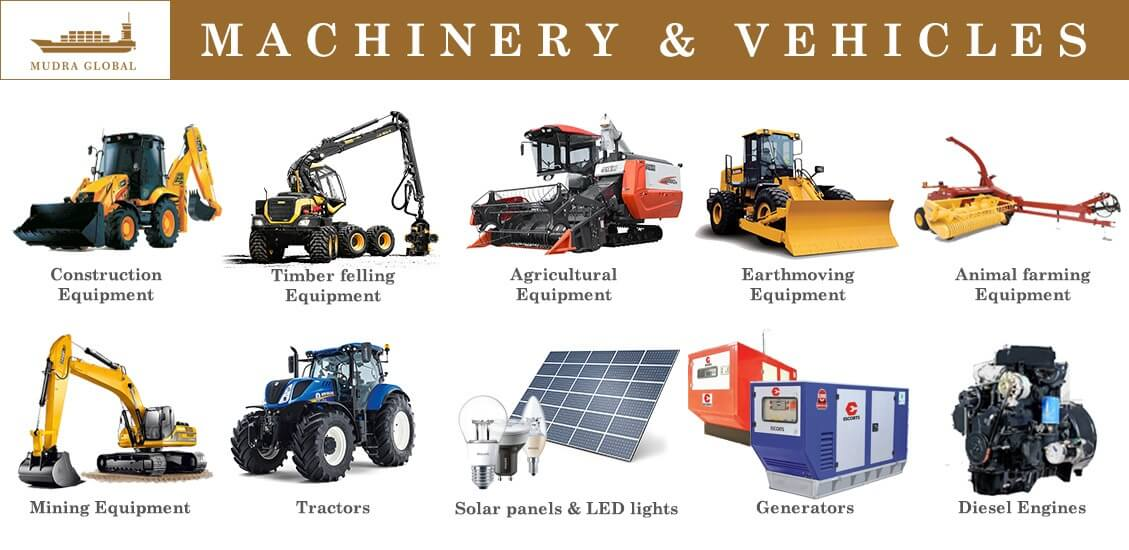 International Trader of machinery and vehicle