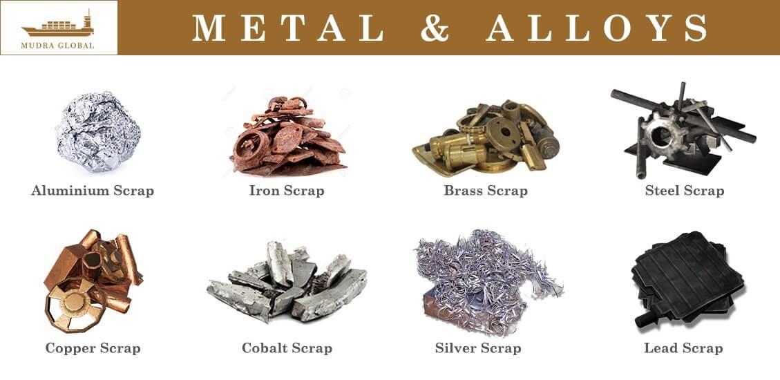 Metal scrap importer | Metals and Alloys