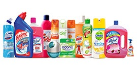 Disinfectants & Cleaning products